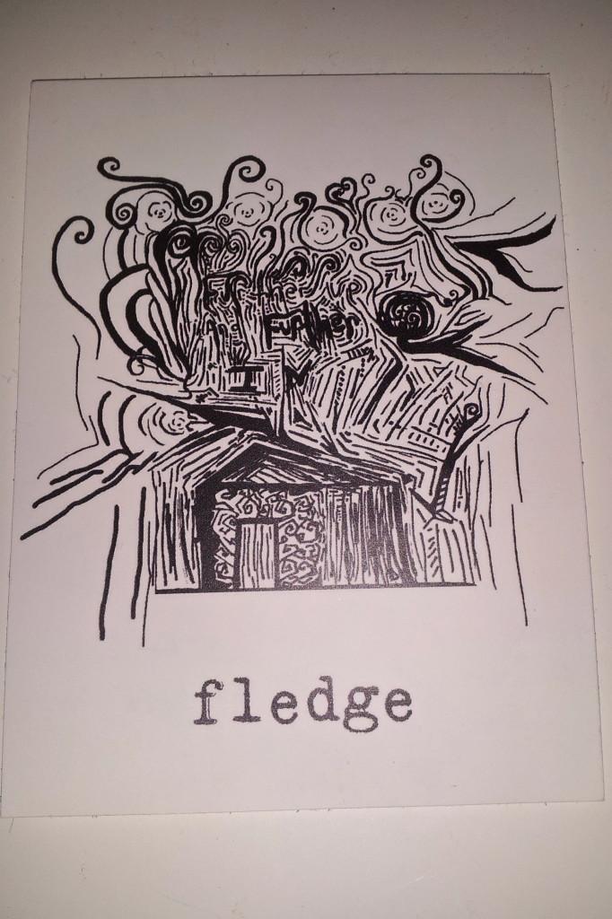 band Fledge sticker