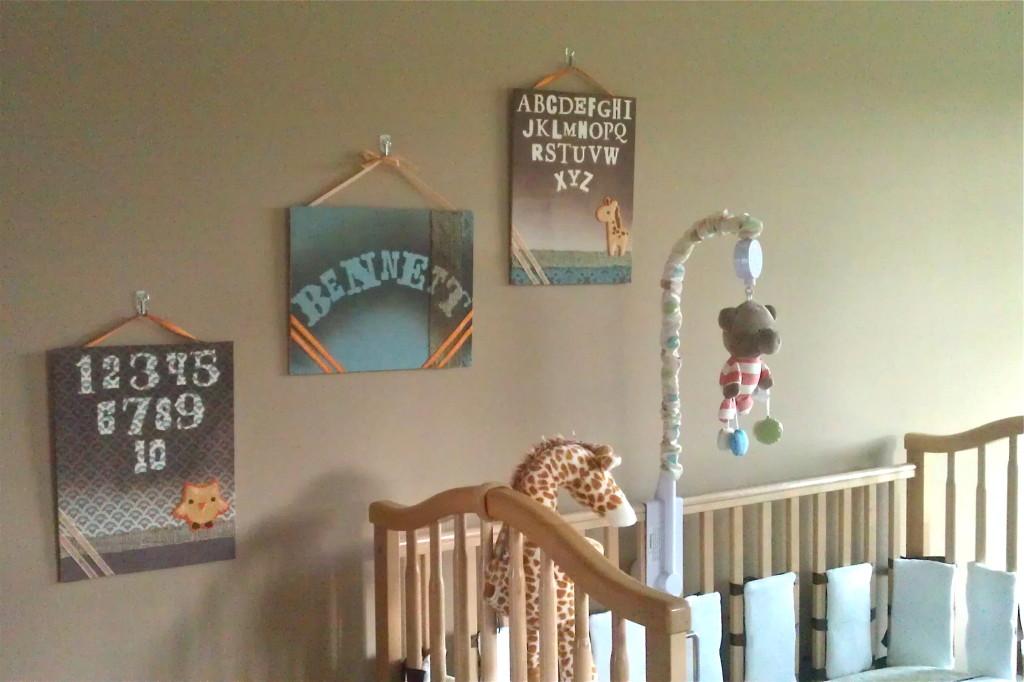 Nursery DIY decor